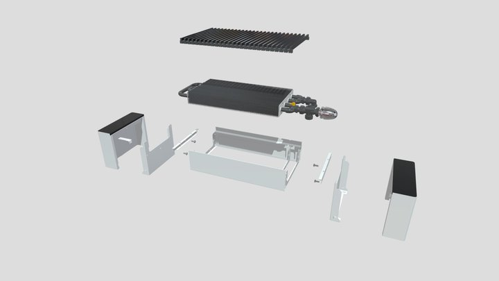 Коралл Pro НКО 05-10.050P (2) 3D Model