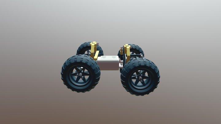 RACE2 3D Model