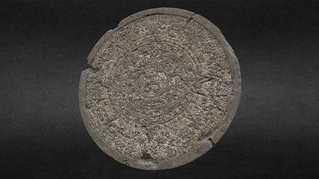 Aztec Calendar 3D Model