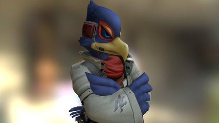 Falco (StarFox) 3D Model