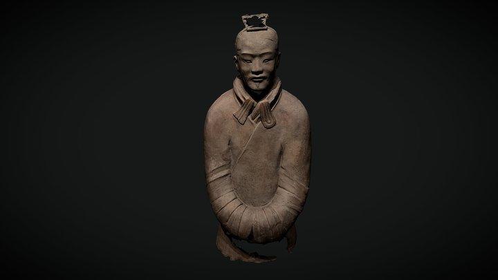 Terracotta warrior photogrammetry test 3D Model