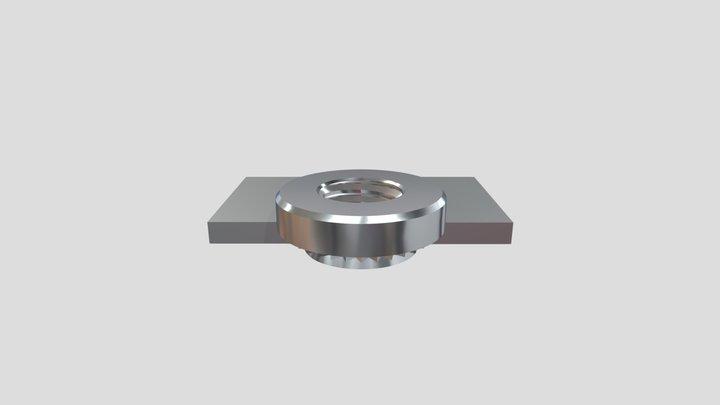 Type CLS/S - Self-clinching Nut - Einpressmutter 3D Model