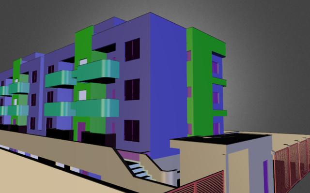radico - praia do flamengo 3D Model