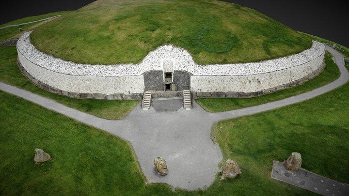 Newgrange Passage Tomb, Co. Meath, Ireland 3D Model