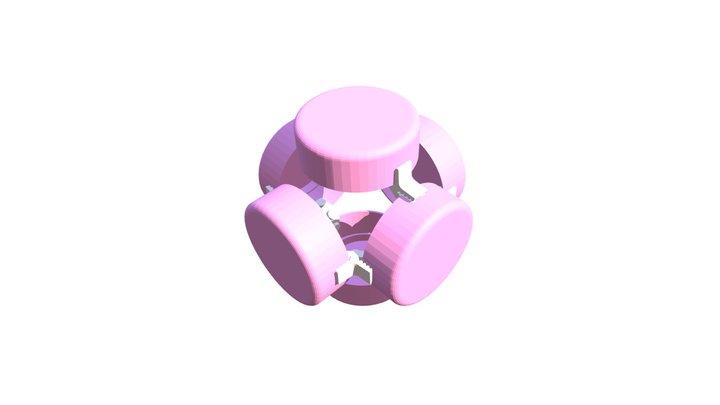CLIP IT 3D -  SPINNER / TOUPIE 3D Model