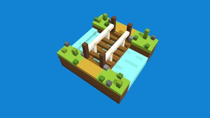 Tiny Bridge 3D Model