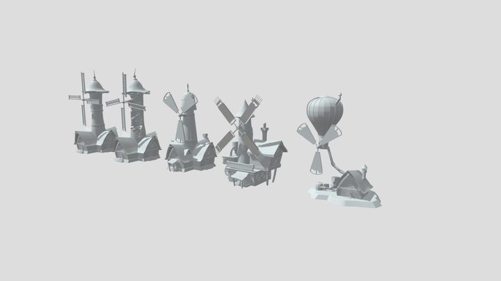 Homework4. Mills 3D Model