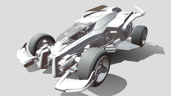 Vulcan - Rocket League 3D Model