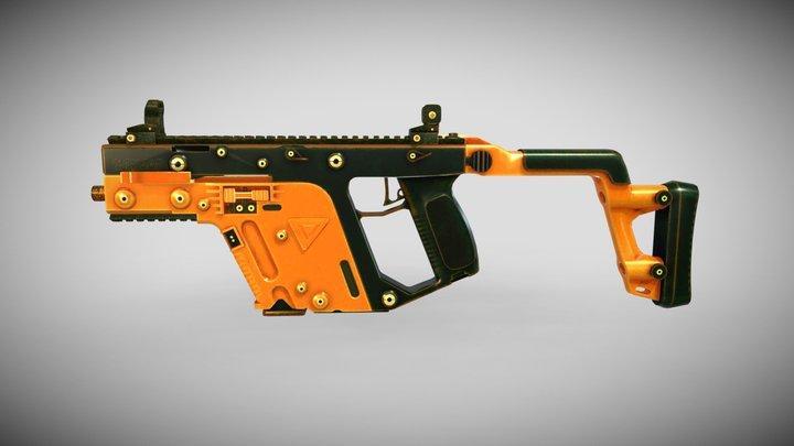 VECTOR RUGGED |SMG| | PUBG | 3D Model