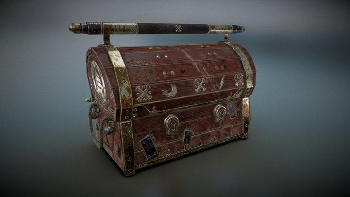 LA PIRATE DES CANARIS -The Treasure Chest 3D Model