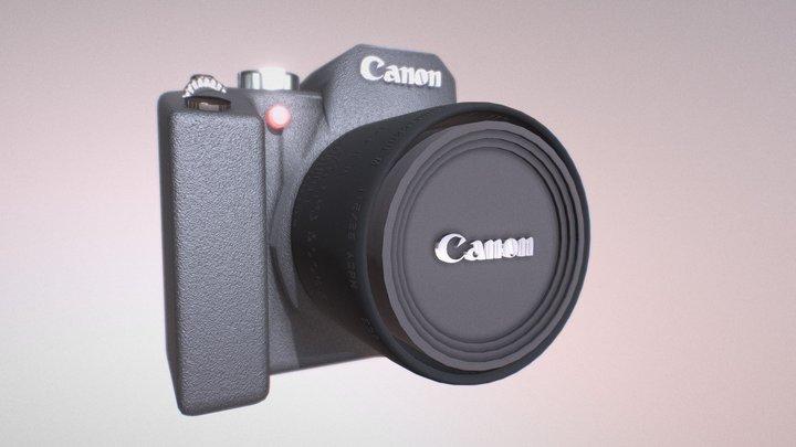 Camera Canon 3D Model