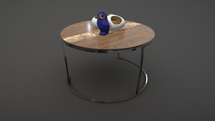 Giotto-B Coffee Table 3D Model