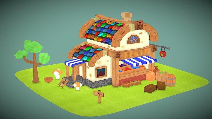 Fruit House 3D Model
