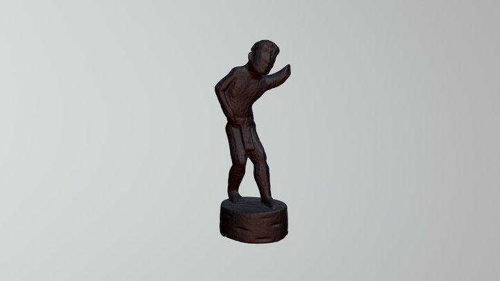 Ethnographic Figurine 3 3D Model