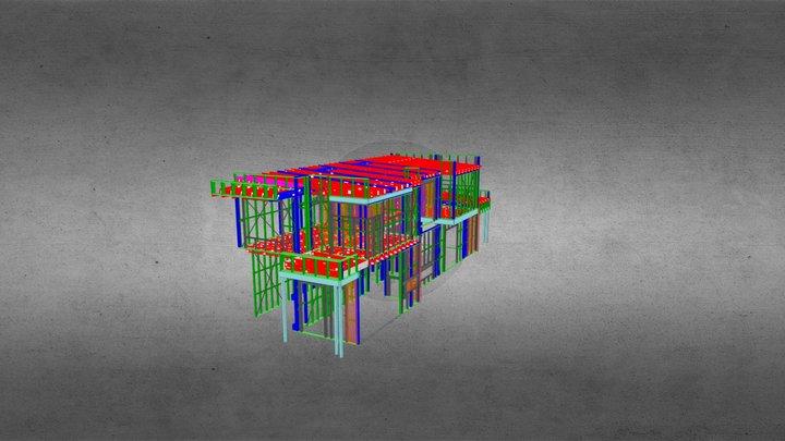 7669F- Dwelling B 3D Model