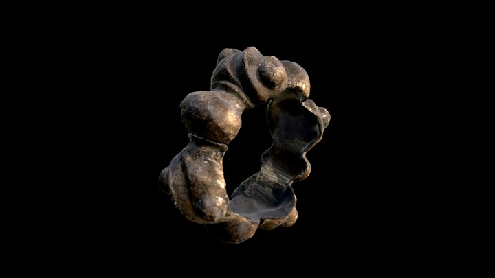 Bronze Bracelet from Longirod - 3rd c. BC 3D Model