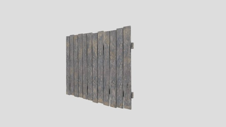 Fence russia 2 3D Model