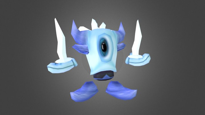 Icyclops 3D Model