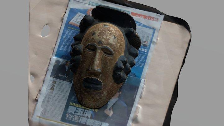 土著面具 3D Model