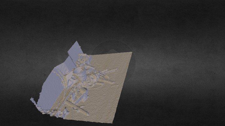 六和塔内部 3D Model