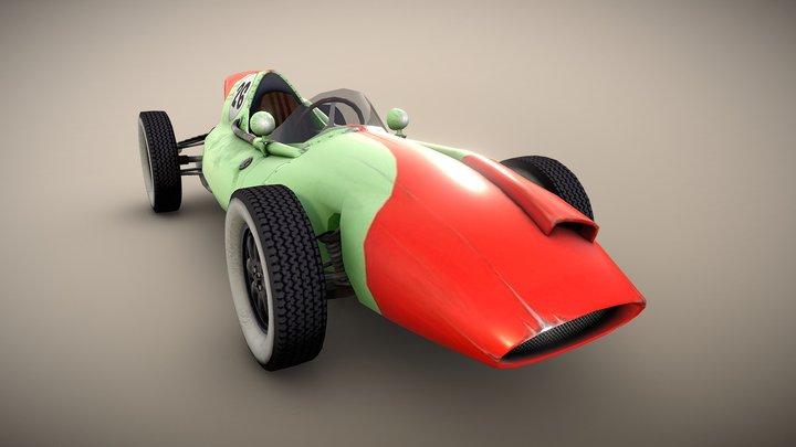 Cooper T51 3D Model