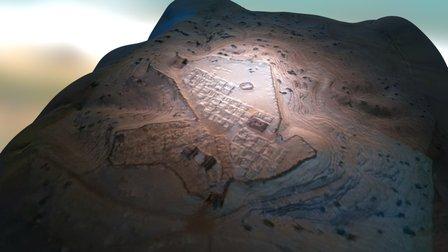 Plano Carmo Romana 3D Model