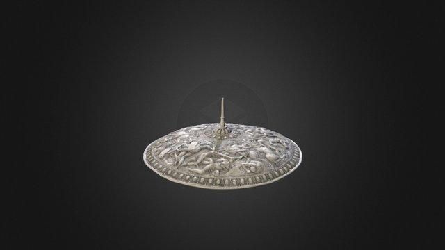 Shield of the King Erik XIV 3D Model