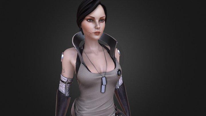 Bourbeau - Skunkworks Pilot 3D Model