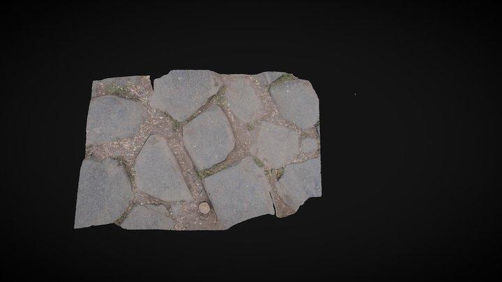Roman Forum Street 3D Model