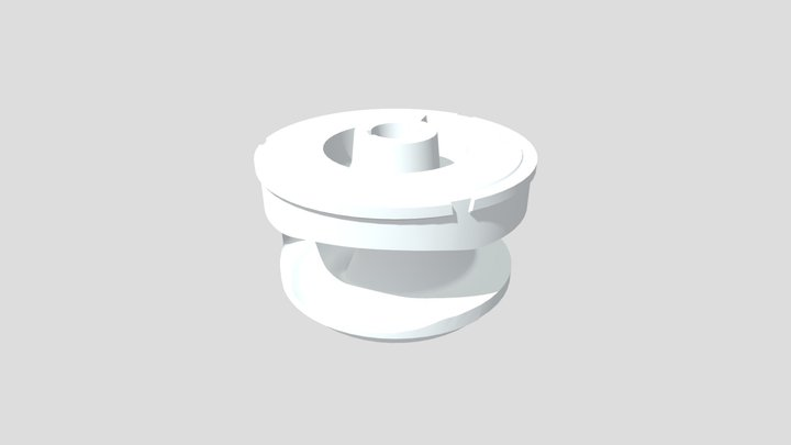 Water Turbine - CAD Model 3D Model
