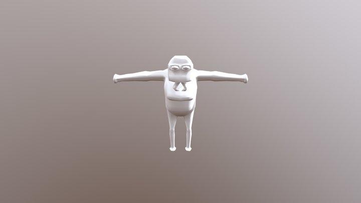 Repticect Hoofd 2 3D Model
