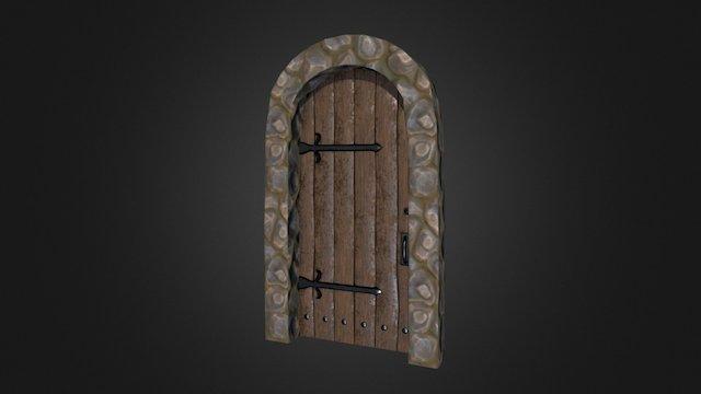 medieval_door 3D Model