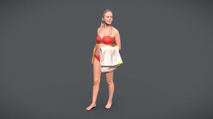 Elena 10455 - Bikini Model 3D Model