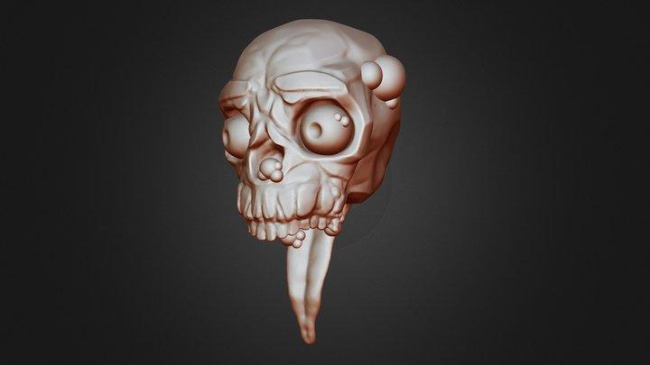 SculptJanuary2019 - Day4 - Rotten 3D Model