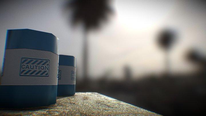 Substance Practice 3D Model