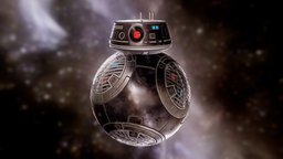 BB-9E Droid 3D Model