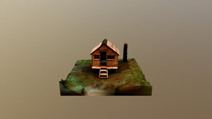 Casita Low 3D Model
