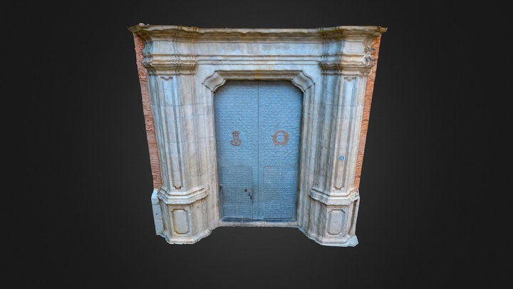 Puerta Iglesia Arciprestal San Jaime, Vila-real 3D Model