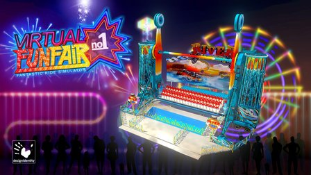 Virtual-FunFair - River-Rafting 3D Model