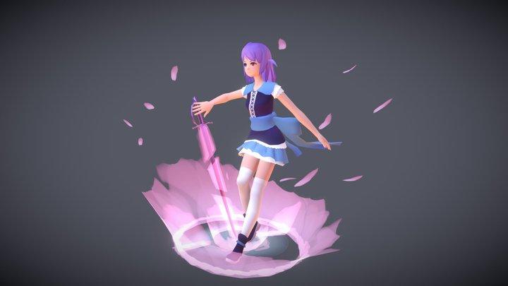 Windy Darian 3D Model