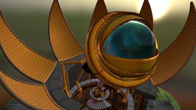 Frankensteam Observatory 3D Model