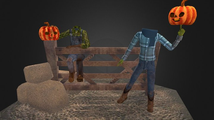 Pumpkin Shenanigans 3D Model