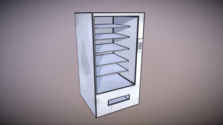 Empty Vending Machine 3D Model