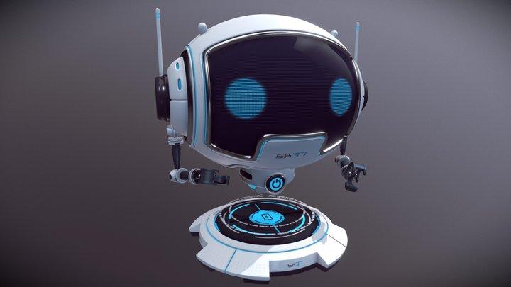 SK37 3D Model