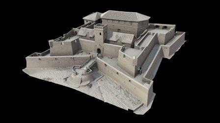 Fort St. Jago, Ghana 3D Model