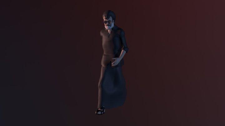 RAJINI KANTH KAALA 3D Model