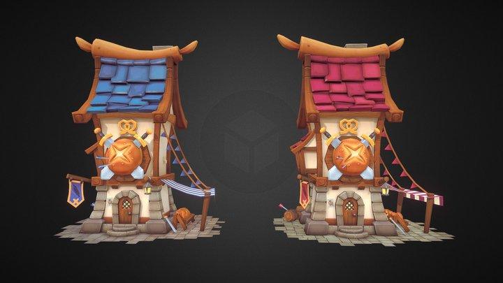 Citadel Bakery! 3D Model