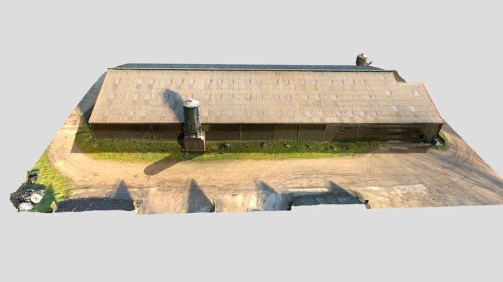 Bâtiment de ferme 3D Model