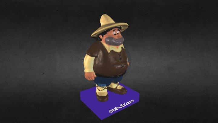 Sancho Panza (Don Quijote) 3D Model