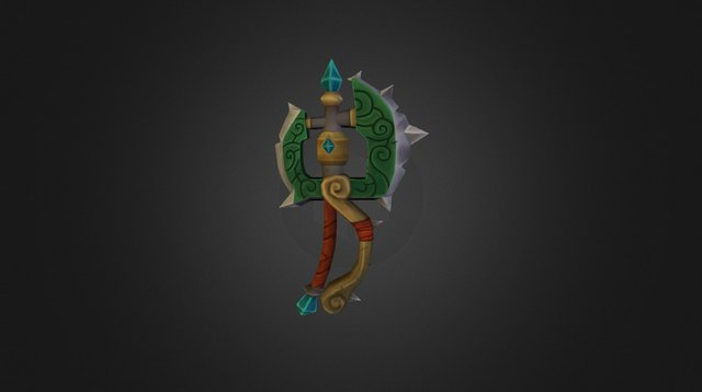 MoP One Handed Axe 3D Model